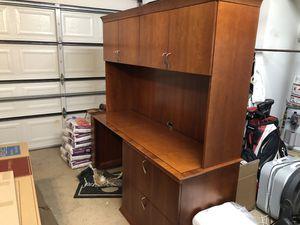 Wood Desk for Sale in Chula Vista, CA