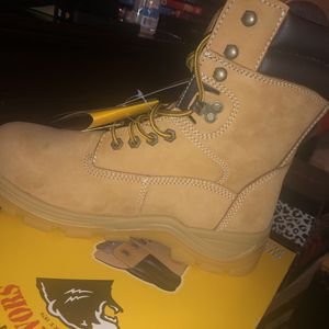 Work Boots Size 8.5 men's (women's 10) for Sale in Park Forest, IL