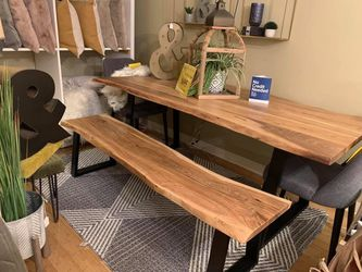 Live Edge Dining Table (Modern Home Furniture ) for Sale in undefined