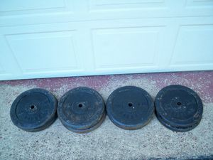 Standard Weights (400 Pounds) - (8) 50's!! for Sale in Delmont, PA