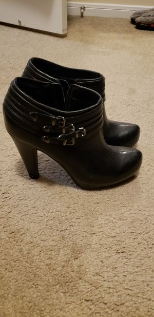 Black booties for Sale in Pearland, TX