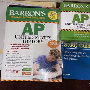 Barron's AP US History Study Guide & Flash Cards for Sale in Fresno, CA