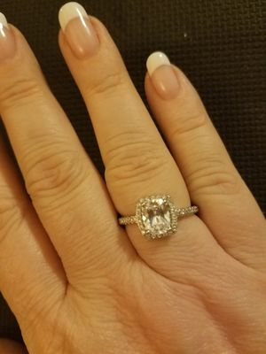 White Gold Filled Engagement Ring for Sale in Knoxville, TN