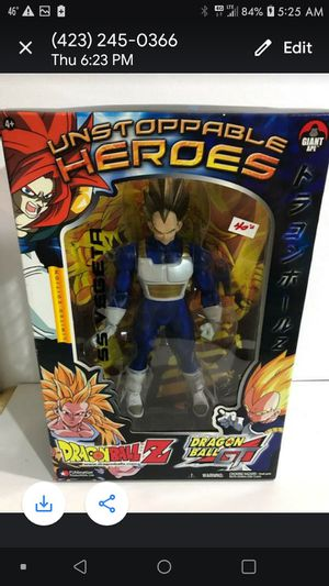 DRAGONBALL Z GT 'Unstoppable Heroes' Collection SUPER SAIYAN VEGETA New Vintage Toy Collectible for Sale in Kingsport, TN