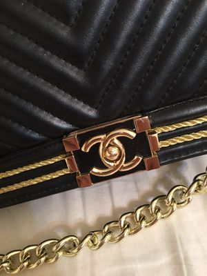 "Classic Black Chanel ""Le Boy"" Bag for Sale in Pensacola, FL"