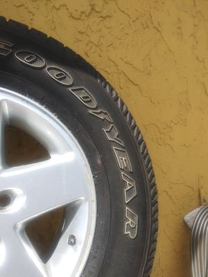 Goodyear tires + rims for Sale in Pembroke Pines, FL
