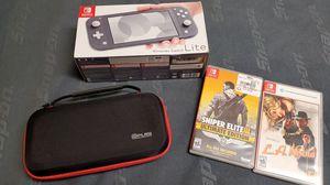 Nintendo switch lite bundle for Sale in Silverdale, WA