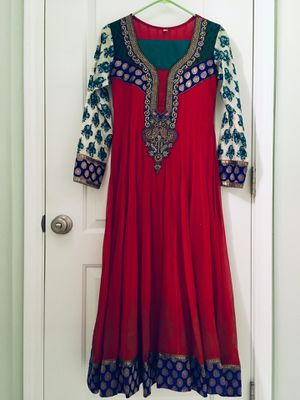 Indian Anarkali Dress Size S for Sale in Orland Park, IL