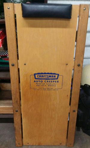 Vintage Craftsmen Auto Creeper for Sale in Dallas, TX
