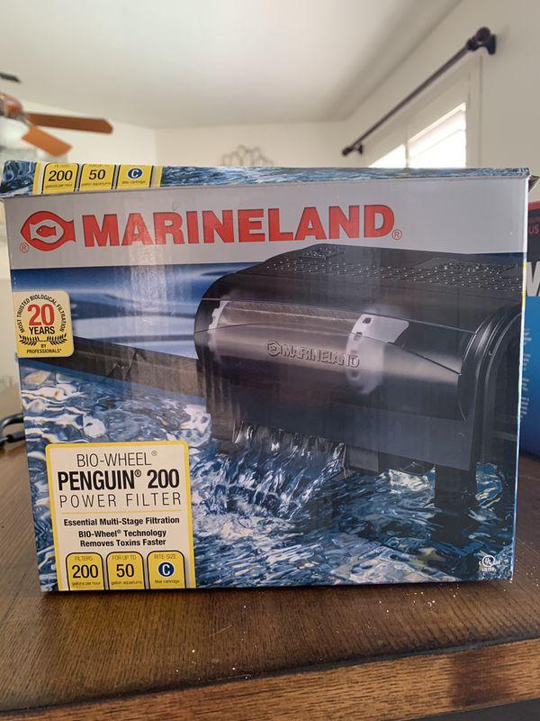 Marine land penguin 200 aquarium filter