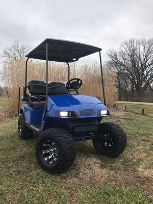 Deep Blue Custom Gas Ez-Go Golf Cart for Sale in Lebanon, OH