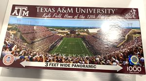 Texas A&M Kyle Field Panoramic Puzzle 1000 Pieces for Sale in Southlake, TX