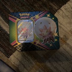 Pokemon Shining Fates Tin Collection Eldegoss V *OPENED* for Sale in Sacramento,  CA
