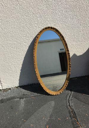 Old oval mirror for Sale in Hampton, VA
