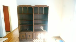 Solid wood bookshelves for Sale in Los Gatos, CA