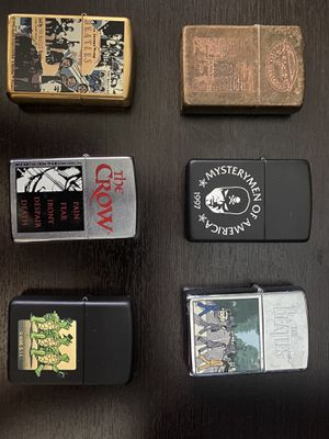 7 Zippo collection for Sale in Queens, NY