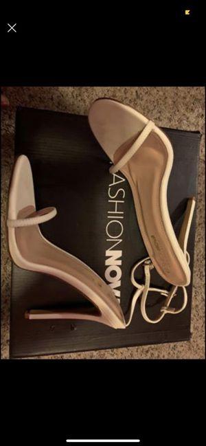 Fashion Nova open toe heels for Sale in Oxon Hill, MD