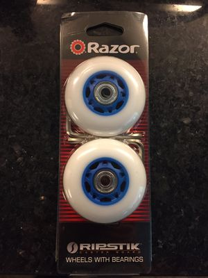 Ripstik wheels. Brand new. 76mm diameter. Does not fit mini. Fits larger size. for Sale in Roswell, GA