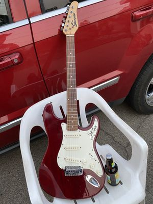 Jeff Cook lead singer GUITAR PLAYER Alabama signed guitar 🎸 for Sale in Spanish Flat, CA