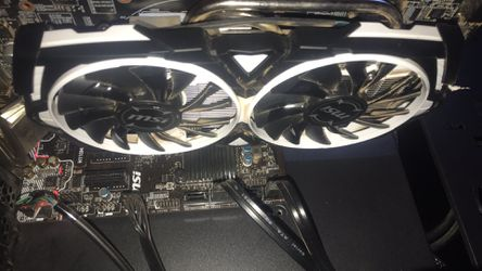 MSI Rx 480 4gb Armor Edition for Sale in Madison Heights,  VA