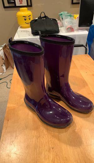 Rain Boots Purple for Sale in Frisco, TX