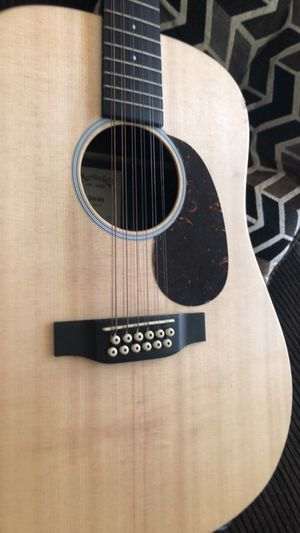Martin 12 String Accoustic Electric Guitar (Great Condition) for Sale in Silver Spring, MD
