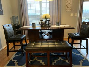 Dining Table with Benches for Sale in Frederick, MD
