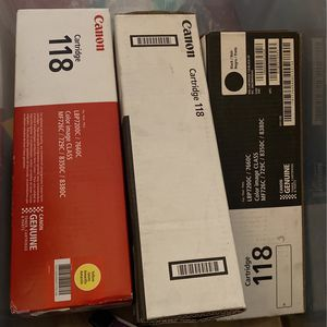 Cannon Ink Cartridge 118 for Sale in Los Angeles, CA