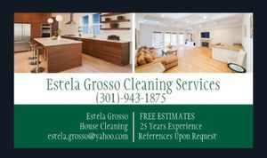 Estela Cleaning Services. All DMV for Sale in Silver Spring, MD