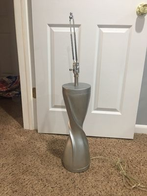 Silver Table Lamp for Sale in Oxon Hill, MD