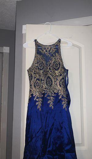 Blue formal mermaid dress for Sale in Dickinson, TX