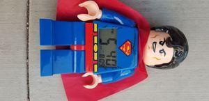 LEGO Superman Alarm Clock for Sale in Irvine, CA
