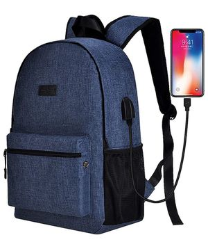 new Laptop Backpack for Women Men,Travel School Backpack Up to 15.6 Inch with USB Port for Sale in Fresno, CA
