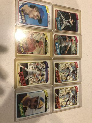 Baseball cards, stars of 1980, 9 cards total for Sale in Hebron, KY