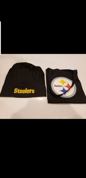 Steelers grill set with hat - NEW - Fort Apache & Warm Springs for Sale in Las Vegas, NV