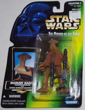 Star Wars Momaw Nadon Hammerhead The Power of the Force Action Figure for Sale in Lakewood, WA