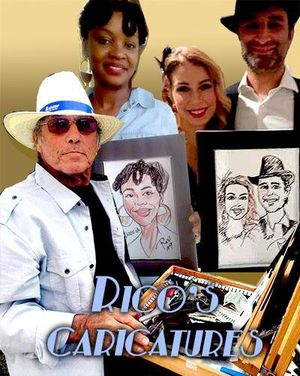 New Year's Eve Party Caricature Gift Favors for Sale in Hollywood, FL
