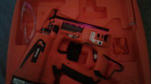 Paslode finish nailer new condition will trade for a good running chainsaw for Sale in Fresno, CA