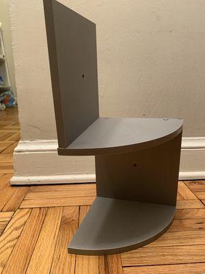 Gray corner shelf for Sale in Washington, DC