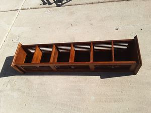 Small mission style shelf for Sale in Chandler, AZ