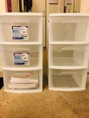 Sterilite 3 Drawer cart - Medium for Sale in Irvine, CA