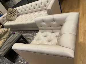 Baker sofa and chair for Sale in Morton Grove, IL