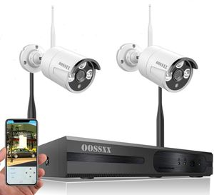 New 【2019 Update】 OOSSXX 8-Channel HD 1080P Wireless Network/IP Security Camera System(IP Wireless WiFi NVR Kits),2Pcs 720P Wireless Indoor/Outdoor I for Sale in Orlando, FL