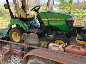 John Deere Riding Mower with Tiller for Sale in Imperial, MO