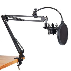 NB-35 Microphone Scissor Arm Stand with Pop Filter for Sale in Citrus Heights, CA