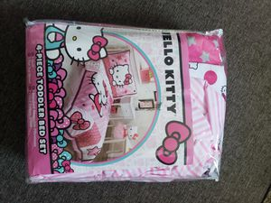 Hello Kitty Toddler Bedding Set New‼‼‼‼ for Sale in Norwalk, CA