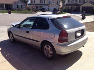 97 Honda Civic Hatchback CX for Sale in Menifee, CA
