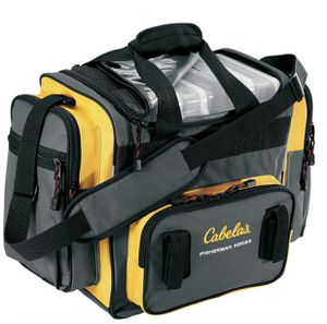 Cabela's Tackle Bag with 6 3700 Boxes for Sale in La Habra, CA