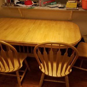 Kitchen Table And 4 Chairs for Sale in Arvada, CO