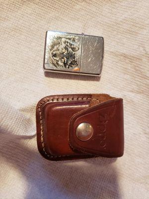 ZIPPO Lighter with ZIPPO Case for Sale in Casa Grande, AZ